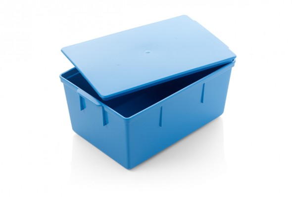 warwicksasco-medicalboxesstoragecontainers-blue-instrument-box-with-solid-lid-IBX2718open