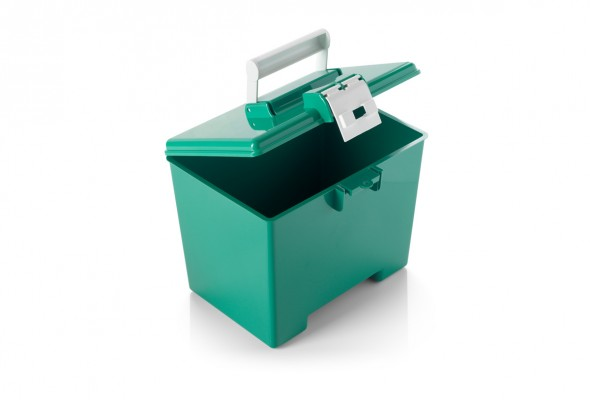 warwicksasco-medicalboxesstoragecontainers-green-transportation-box-with-hinged-lid-MB2318G