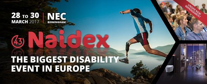 Naidex Disability Show Birmingham